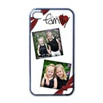 We are family iphone case - iPhone 4 Case (Black)