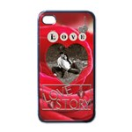 Love Story Apple iPhone 4 Case - iPhone 4 Case (Black)