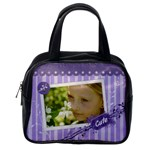Classic Bag Purple - Classic Handbag (One Side)
