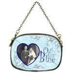 Old New Borrowed Blue Bridal Chain Purse - Chain Purse (Two Sides)