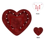 Love Heart Shaped Playing Cards 1 - Playing Cards (Heart)