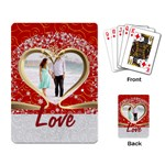Love  card - Playing Cards Single Design