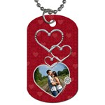 Lotsa Love 1-Sided Dog Tag - Dog Tag (One Side)