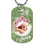 Spring Baby Dog Tag - Dog Tag (One Side)