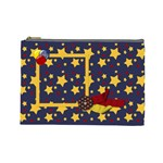 Primary Cardboard Large Cosmetic Bag 1 - Cosmetic Bag (Large)