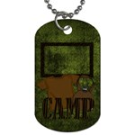 Camp NoNo Dog Tag 1 - Dog Tag (One Side)
