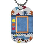 Silly Summer Fun Dog Tag 1 - Dog Tag (One Side)