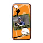 Baseball - Iphone case - iPhone 4 Case (Black)