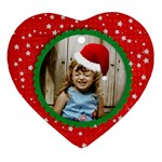 Santa Hat ornament - template - Ornament (Heart)