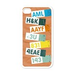 Text Messages-Iphone case template - iPhone 4 Case (White)
