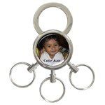 aan - 3-Ring Key Chain