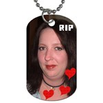 TRINA - Dog Tag (One Side)