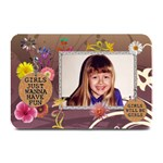 Girls will be Girls 18x12 Placemat - Plate Mat