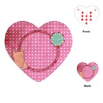 Sleepover Heart Playing Cards 1 - Playing Cards Single Design (Heart)