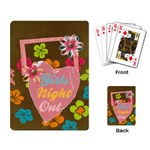 Girls Night Out-playing cards - Playing Cards Single Design (Rectangle)