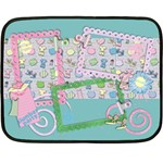 Slumber Party-Mini Fleece Blanket  - Fleece Blanket (Mini)