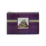 Purple Python Medium Makeup Bag - Cosmetic Bag (Medium)