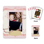 Flower theme - Playing Cards Single Design