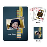Playing Cards Single Design- Star1 - Playing Cards Single Design (Rectangle)