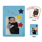 Playing Cards Single Design - Stars2 - Playing Cards Single Design (Rectangle)