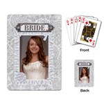Bride Playing Cards - Playing Cards Single Design (Rectangle)