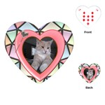 Stained Glass Heart Playing Cards - Playing Cards Single Design (Heart)
