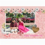 Amore Valentines Card - 5  x 7  Photo Cards