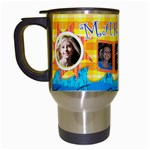 makayla summer travel mug - Travel Mug (White)