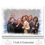 Simon Girls - Wall Calendar 11  x 8.5  (12-Months)