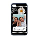 Express Yourself! Apple iPhone Case - Apple iPhone 4 Case (Black)