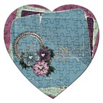 Legacy of Love Heart Puzzle - Jigsaw Puzzle (Heart)