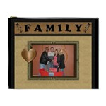 Family Framed XL Cosmetic Bag - Cosmetic Bag (XL)