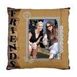 Friends Cushion Cover (2 Sides) - Standard Cushion Case (Two Sides)