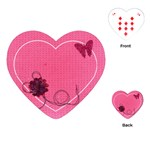 Love Ya Big Heart Playing Cards - Playing Cards Single Design (Heart)