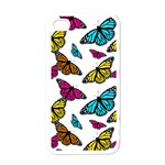 Butterfly phone cover - iPhone 4 Case (White)