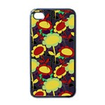 Another Flower Phone Case - iPhone 4 Case (Black)