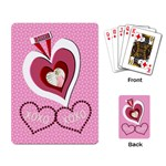 love xoxo cards - Playing Cards Single Design (Rectangle)