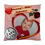 Valentine Pillow - Standard Cushion Case (One Side)