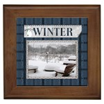 Winter Framed Tile