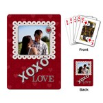 XOXO Playing Cards - Playing Cards Single Design (Rectangle)