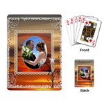 Sunset Playing Cards - Playing Cards Single Design