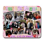 rivky bday - Collage Mousepad