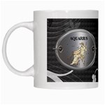 Aquarius Zodiac Mug - White Mug