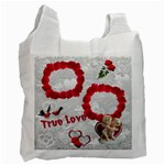 True Love Red recycle bag 2 sides - Recycle Bag (Two Side)