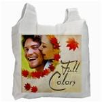 Fall Colours Double Sided recycle bag - Recycle Bag (Two Side)