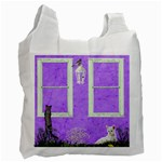 cat fun reusable bag - Recycle Bag (Two Side)