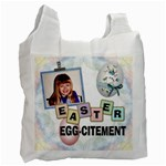 Easter Egg-citement Recycle Bag - Recycle Bag (One Side)