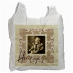 Heritage Generations Damask recycle bag Double sided - Recycle Bag (Two Side)