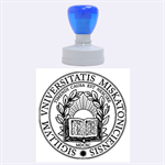 Miskatonic University Seal - Rubber Stamp Round (Large)