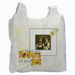 Flower Friends Recycle Bag Double sided - Recycle Bag (Two Side)